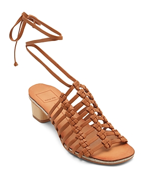 Dolce Vita Women's Leather Gladiator Sandals