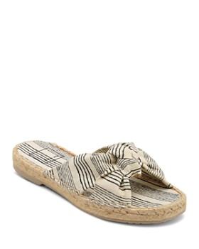 Dolce Vita - Women's Knotted Espadrille Slide Sandals