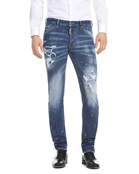 DSQUARED2 - Slim Fit Jeans in Medium Wash