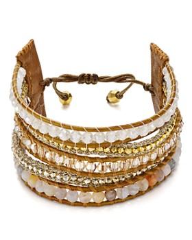 Chan Luu - Beaded Cuff Bracelet