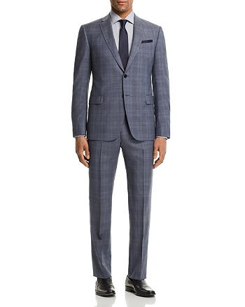 Armani - Tonal Plaid Slim Fit Suit