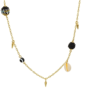 Rebecca Minkoff Shell & Bead Necklace, 34