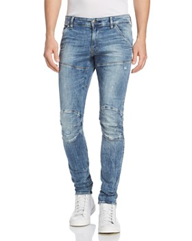 4fdd7096b40 G-STAR RAW - 5620 3D Super Slim Fit Jeans in Light Vintage Aged Destroyed  ...