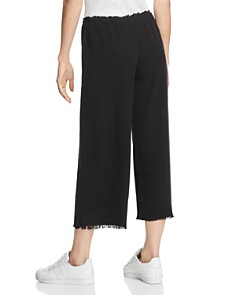 Bailey 44 - Poppy Seed Wide-Leg Silk Pants