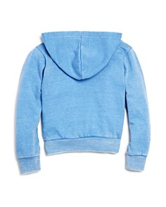 Play Six - Girls' Graphic Patch Zip Hoodie - Little Kid