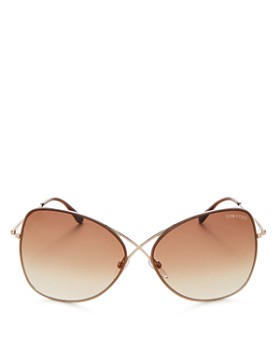 Tom Ford - Women's Round Sunglasses, 60mm