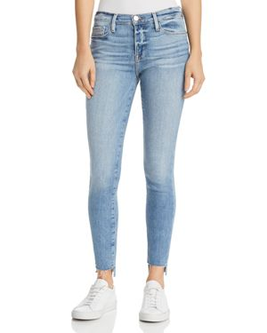 Frame Le Skinny De Jeanne Step-Hem Jeans in Westway - 100% Exclusive