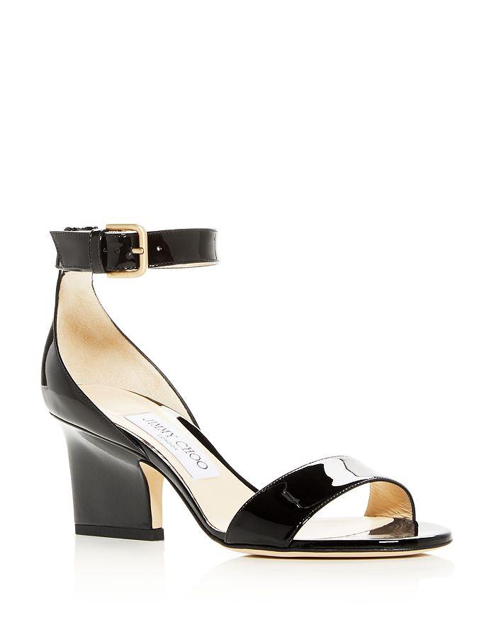 Jimmy Choo - Women's Edina 65 Patent Leather High-Heel Sandals