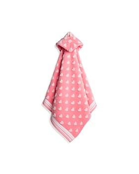 Caro Home - Sweet Hearts Kids Hooded Towel