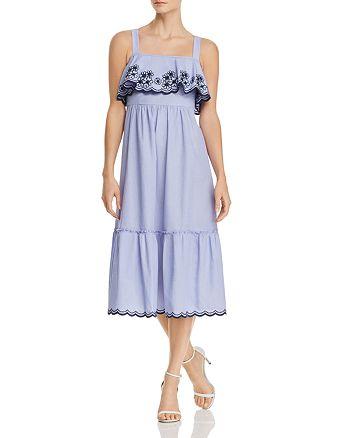 kate spade new york - Daisy Embroidered Overlay Dress