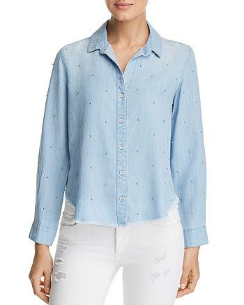 Bella Dahl - Capri Beaded Chambray Shirt