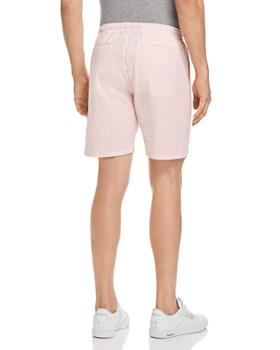 OBEY - Cypress Seersucker Striped Regular Fit Shorts
