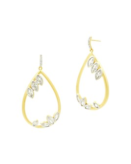 Freida Rothman - Fleur Bloom Teardrop Drop Earrings