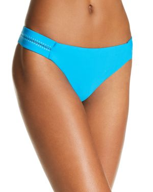 PilyQ Stitched Side Bikini Bottom
