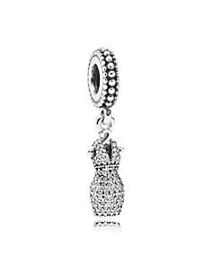 PANDORA Sterling Silver & Cubic Zirconia Dazzling Dress Drop Charm - Bloomingdale's_0