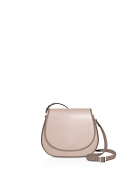 1 Atelier - Mini Leather Saddle Bag
