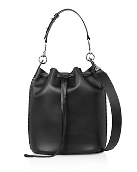 ALLSAINTS - Ray Leather Bucket Bag
