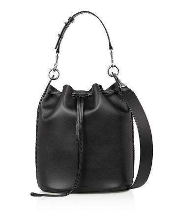 ALLSAINTS - Ray Leather Bucket Bag