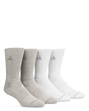 Calvin Klein Crew Socks, Pack of 4