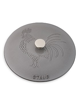 Staub - Cast Iron 3.75-Quart Essential French Oven with Rooster Lid