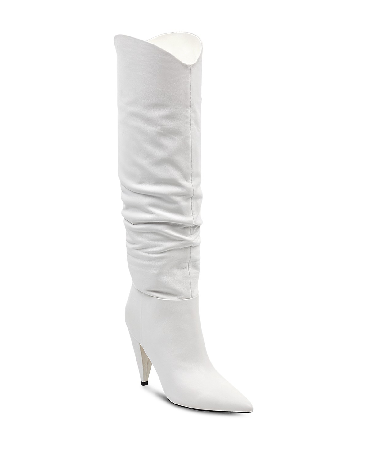 MARC FISHER Women's Hanny Leather Slouchy Tall Boots Sale Pick A Best 4S2hDQ53W