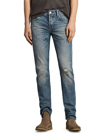 ALLSAINTS - Iowa Reed Slim Fit Jeans in Indigo