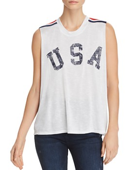 Vintage Havana - USA Graphic Tank