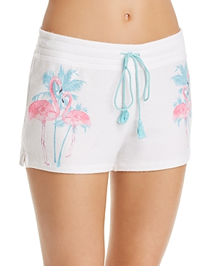 Pj Salvage FLAMINGO SLEEP SHORTS