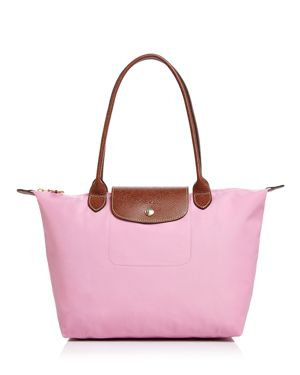 'SMALL LE PLIAGE' TOP HANDLE TOTE - PINK
