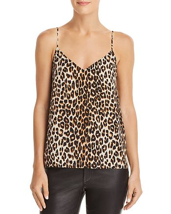 Equipment - Layla Leopard Silk Camisole Top