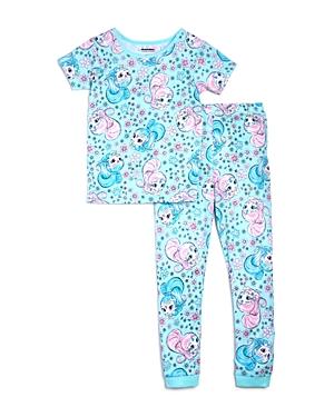 Global Brands x Nickelodeon Girls Shimmer and Shine Shirt  Pants Pajama Set Little Kid  100 Exclusive