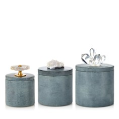 Sparrow & Wren x Kassatex Gray Soapstone Jars - 100% Exclusive - Bloomingdale's_0