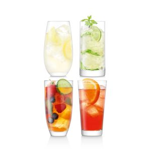 Lsa International Lulu Highball Glass, Set of 4