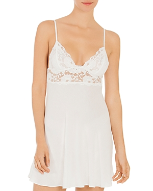 In Bloom By Jonquil LACE-TRIM CHEMISE