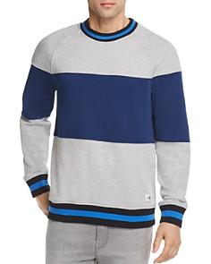 Calvin Klein Tipped Color-Block Crewneck Sweatshirt - Bloomingdale's_0