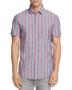 Sovereign Code Port Striped Regular Fit Button-Down Shirt - Bloomingdale's_0