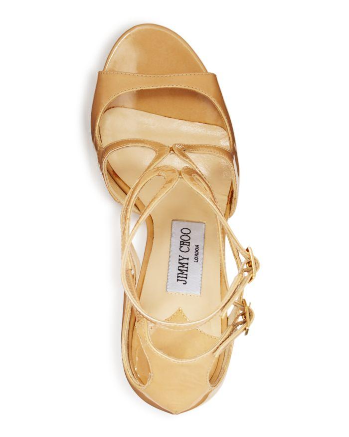 Jimmy Choo Women's Ivette 85 High-Heel Sandals  | Bloomingdale's