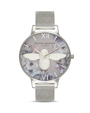 Olivia Burton - Watercolour Florals Watch, 38mm