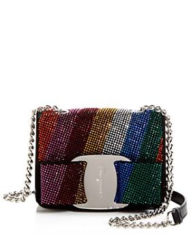 Salvatore Ferragamo - Vara Rainbow Crystal Mini Bag