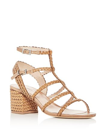 4b2e9de466d SCHUTZ - Women s Clarcie Woven Block-Heel Sandals
