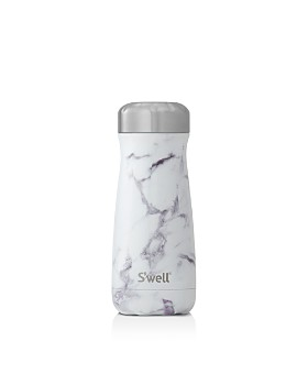 S'well - White Marble Traveler, 16 oz.