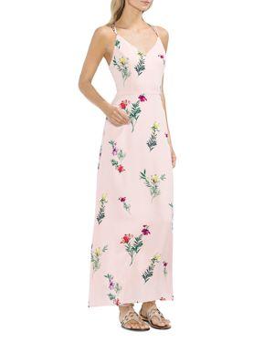 Vince Camuto Tropical Garden Strappy Maxi Dress 2980042
