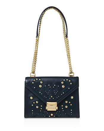 b28683f01aa7 MICHAEL Michael Kors Whitney Large Leather Shoulder Bag | Bloomingdale's
