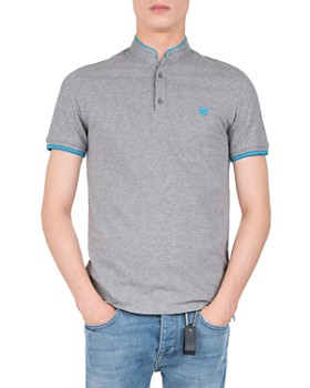 The Kooples - New Shiny Pique Slim Fit Polo