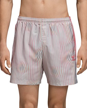 adidas Originals - Warped Stripes Swim Trunks