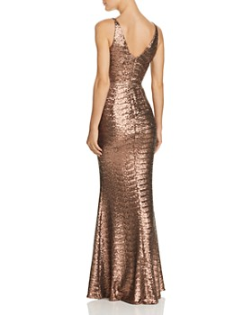 Dress the Population - Harper Sequined Gown