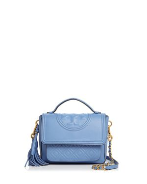 Tory Burch Fleming Leather Satchel 2856788