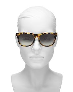 Moschino - Women's 003 Rectangle Sunglasses, 53mm