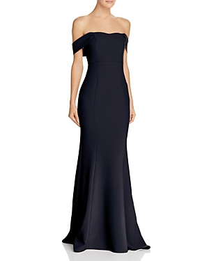 Likely Bartolli Off-the-Shoulder Mermaid Gown