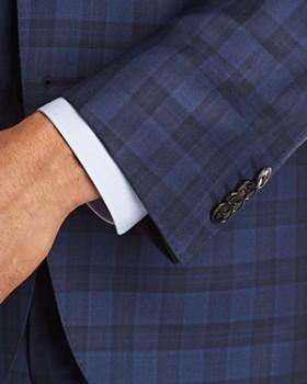 BOSS - Huge/Genius Slim Fit Box Plaid Suit